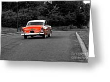 Classic Old Ford Mercury Greeting Card