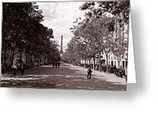 Classic Paris 10 Greeting Card