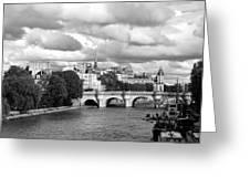 Classic Paris 5 Greeting Card