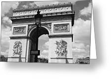 Classic Paris 6 Greeting Card by Andrew Fare
