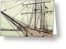 Classic Sail Ship Greeting Card