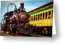 Classic Steam Train No 29 Greeting Card