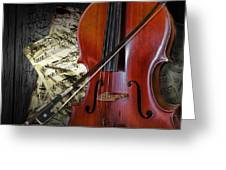 Classical Cello Greeting Card