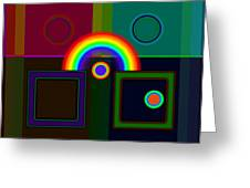 Classical Rainbow Greeting Card