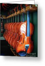 Classical Violins Greeting Card