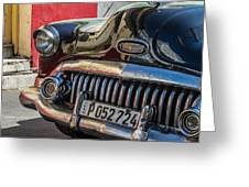 Classics Of Havana Greeting Card