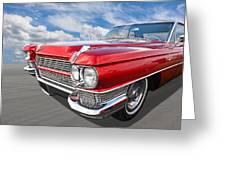Classy - '64 Cadillac Greeting Card