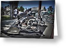 Classy Trike Greeting Card