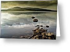 Clatteringshaws Loch Greeting Card