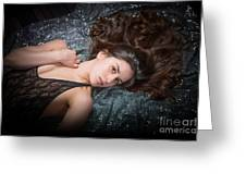 Claudia Nude Fine Art Print In Sensual Sexy Color 4884.02 Greeting Card