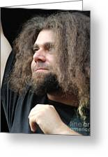 Claudio Sanchez Of Coheed And Cambria Greeting Card