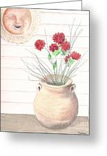 Clay Pot Greeting Card