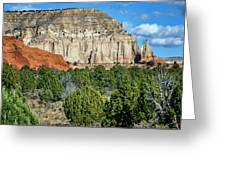 Claystone - Sandstone - Kodachrome Basin Greeting Card