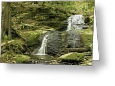 Clayton Beach Falls Greeting Card
