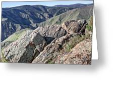 Clear Creek Canyon Greeting Card
