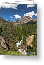 Clear Creek, Flat Top Mountain Greeting Card