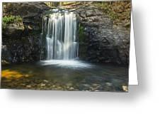 Clear Creek Water Fall Greeting Card