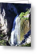 Clear Creek Waterfall  Greeting Card