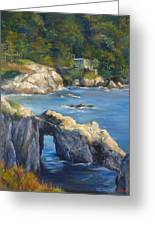 Clear Day At Point Lobos Greeting Card