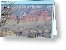 Clear Day At The South Rim Greeting Card