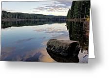 Clear Lake, Oregon Greeting Card