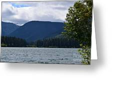 Clear Lake View Greeting Card