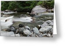 Clear Rapids Greeting Card