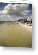 Clear Water Beach II Greeting Card