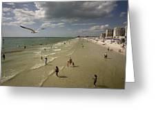 Clear Water Beach Greeting Card