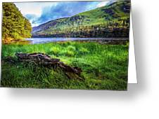 Clear Waters Of Glendalough Greeting Card