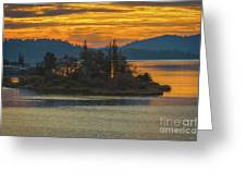 Clearlake Gold Greeting Card