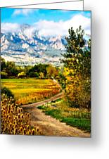 Clearly Colorado Greeting Card