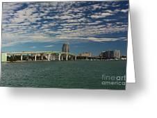Clearwater Bridge  Greeting Card