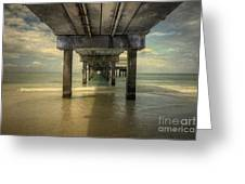 Clearwater Pier Greeting Card