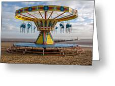 Cleethorpes Beach Greeting Card