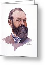 Clement Cornwall Portrait Greeting Card