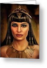 Cleopatra Greeting Card