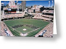 Cleveland: Jacobs Field Greeting Card
