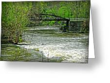 Cleveland Metropark Bridge Greeting Card
