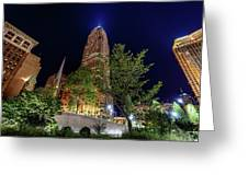 Cleveland On The Rise Greeting Card