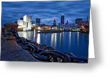 Cleveland Rocks Greeting Card