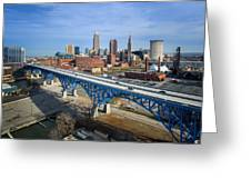 Cleveland Skyline #1 Greeting Card