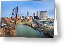 Cleveland Skyline #2 Greeting Card