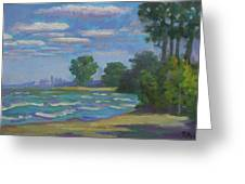Cleveland Vista Greeting Card