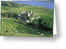 Clifden Castle, Co Galway, Ireland 19th Greeting Card