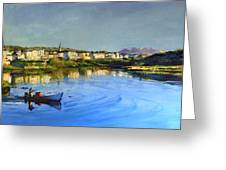 Clifden Harbour Greeting Card