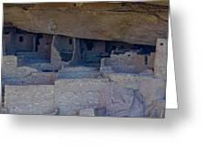 Cliff Dwellers Panoramic Greeting Card