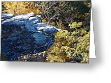 Cliff Face Greeting Card