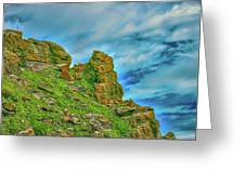 Cliff #h0 Greeting Card