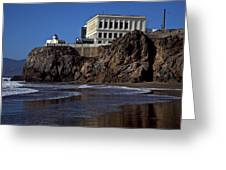 Cliff House San Francisco Greeting Card by Garry Gay